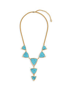 Vera Bradley Triangle Statement Necklace