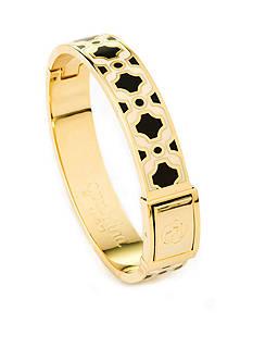 spartina 449 18K Gold-Plated May River Pattern Bangle Bracelet