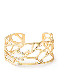 spartina 449 18 KT Gold-Plated Cuff Bracelet