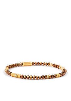spartina 449 18k Gold Plated Stretch Bracelet