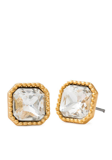 spartina 449 18K Gold-Plated Summer Crystal Stud Earrings