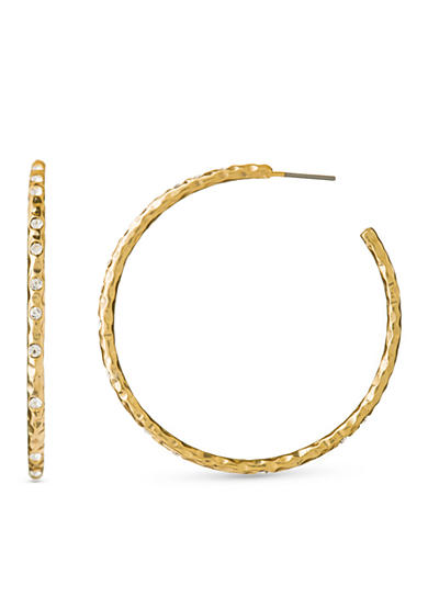 spartina 449 18k Gold-Plated Fizz C Hoop Earrings