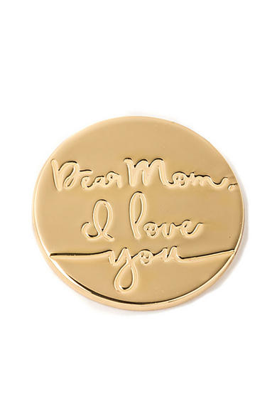 spartina 449 Dear Mom I Love You Locket Note
