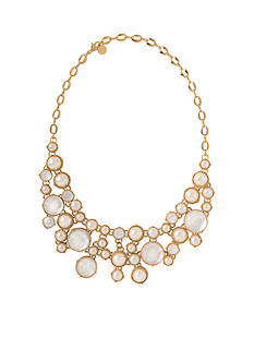 spartina 449 Gold-Tone Pearl Gala Necklace