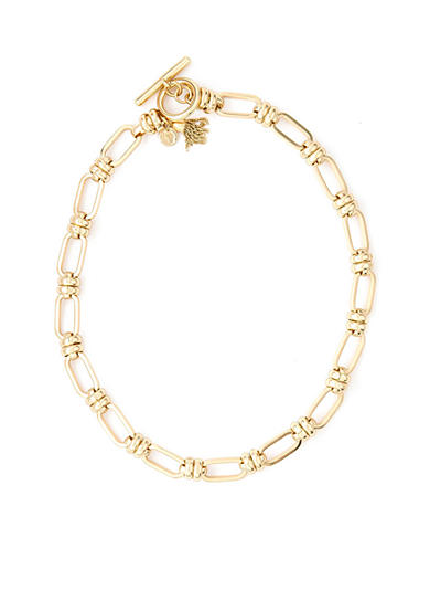 spartina 449 18K Gold-Plated Casablanca Link Necklace