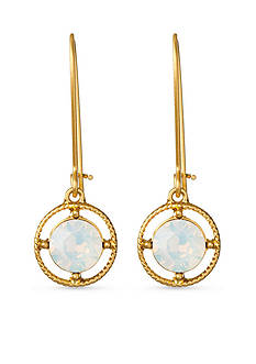 spartina 449 18 KT Gold-Plate Bazaar Drop Earrings