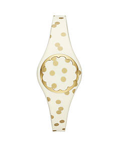 kate spade new york Connected Women's Gold-Tone And Cream Scallop Tracker