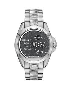 Michael Kors Connected Bradshaw Stainless-Steel & Pav Smartwatch