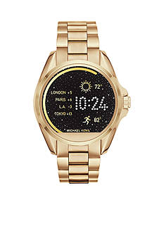 Michael Kors Connected Women's Bradshaw Gold-Tone Smart Watch
