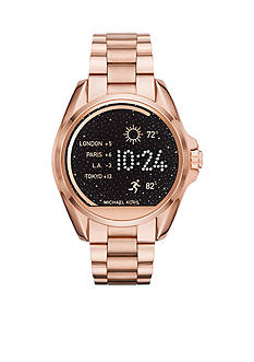 Michael Kors Connected Women's Bradshaw Rose Gold-Tone Smart Watch