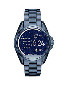 Michael Kors Connected Women's Bradshaw Blue IP Smart Watch