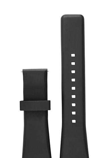 Michael Kors Connected Women's Bradshaw Black Silicone Strap