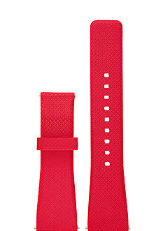 Michael Kors Connected Women's Bradshaw Red Silicone Strap