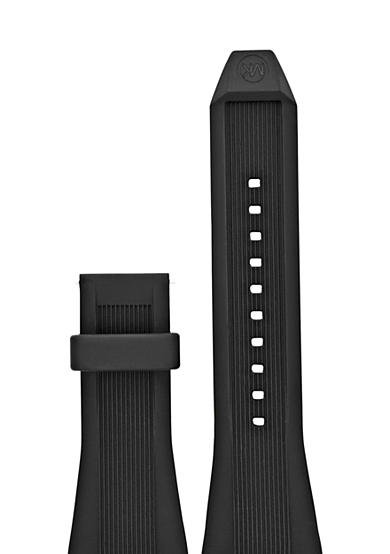 Michael Kors Connected Men's Dylan Black Silicone Strap