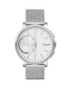 Skagen Silver-Tone Hagen Connected Smartwatch