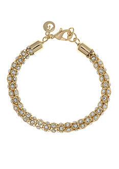 Gloria Vanderbilt Gold-Tone Basic Social Chain Bracelet