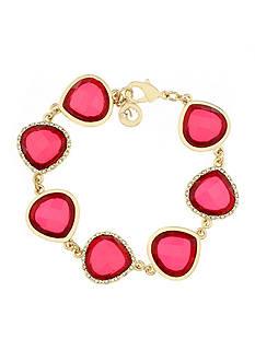 Gloria Vanderbilt Gold-Tone Claret Bracelet