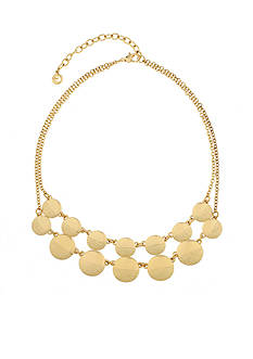Gloria Vanderbilt Gold-Tone Gold Reef Statement Necklace