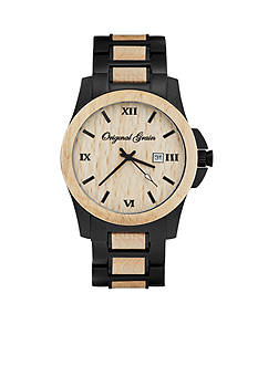 ORIGINAL GRAIN Men's Classic Maplewood Black Watch