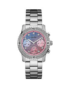 GUESS® Women's Blue-Pink Watch