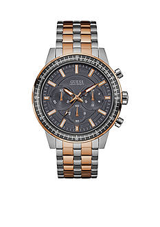 GUESS® Men's Rose Gold-Tone Chronograph Watch