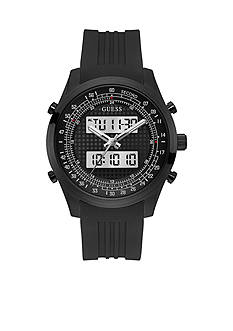 GUESS® Men's Black Digital Chronograph Watch