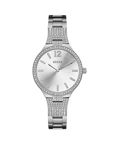 GUESS® Women's Silver-Tone Watch