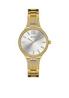 GUESS Women's Gold-Tone Watch
