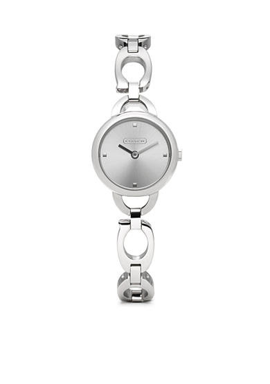 COACH STAINLESS STEEL BRACELET WATCH