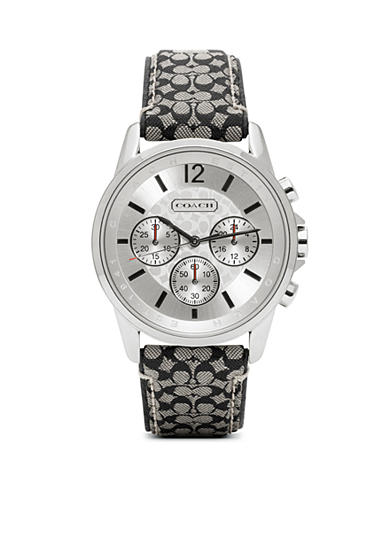 COACH CLASSIC SIGNATURE SPORT STRAP WATCH