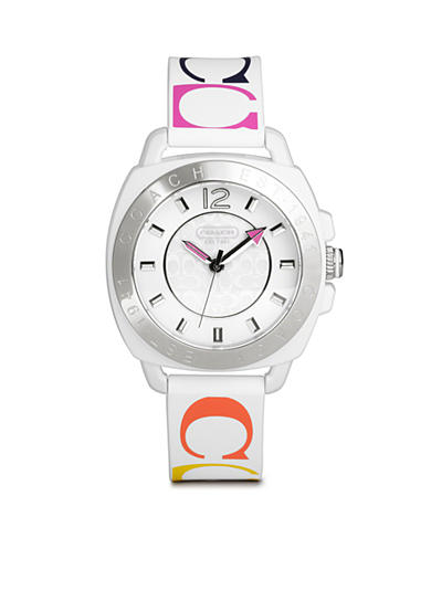 COACH WOMEN'S COACH BOYFRIEND SILICON RUBBER STRAP WATCH