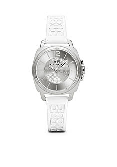 COACH BOYFRIEND SMALL SILICON RUBBER STRAP WATCH