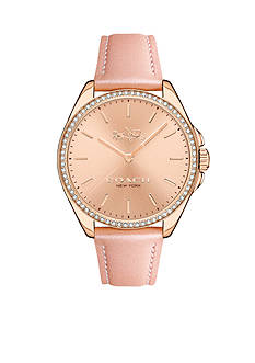 COACH Tristen Rose Gold-Plated Watch