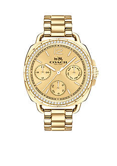 COACH Women's Tatum Gold-Tone Watch