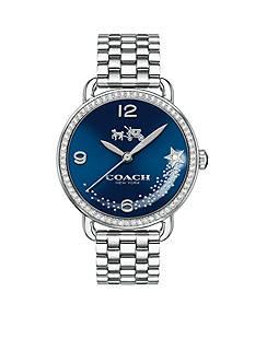 COACH Women's Delancey Stainless Steel Set Sunray Dial Bracelet Watch
