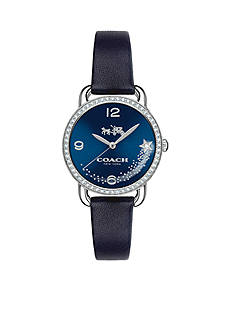 COACH Women's Delancey Stainless Steel Set Sunray Dial Strap Watch