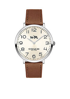 COACH Women's Slim Easton Stainless Steel Strap Watch
