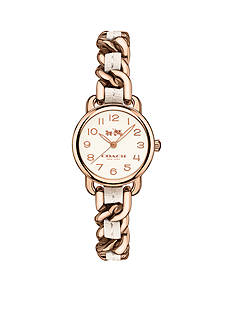 COACH Feminine Glam Delancey Gold-Toned Watch