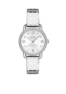 COACH Feminine Stainless Steel Bangle Watch