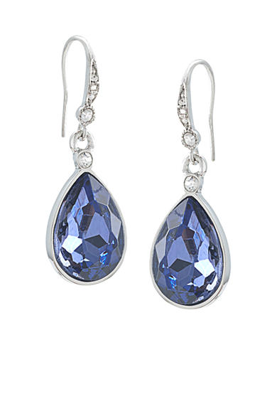 Carolee Royal Blue Drop Earrings