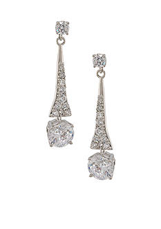 Carolee The Looking Glass Linear Drop Earrings