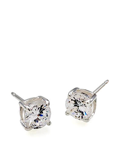 Carolee Tiny Round Cubic Zirconia Stud Earrings