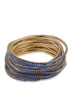 Carolee Gold-Tone 20-Piece Stretch Bracelets