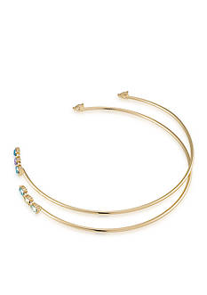Carolee Gold-Tone 2 Piece Open Choker Necklace
