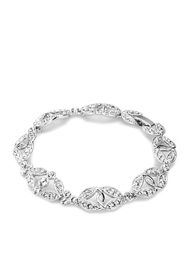 Carolee Ornate Crystal Bracelet