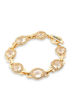 Carolee Gold-Tone Columbus Circle Chain Bracelet