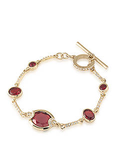 Carolee Gold-Tone The Big Apple Flex Bracelet