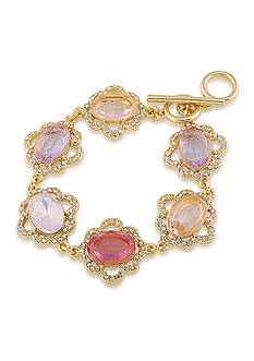Carolee Feminine Chic Single Row Flex Bracelet