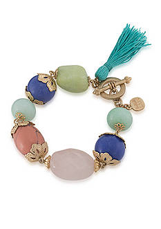 Carolee Gold-Tone LUX Collection Candy Girl Illusion Bracelet