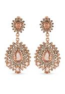 Carolee Rose Gold-Tone Pocket Park Teardrop